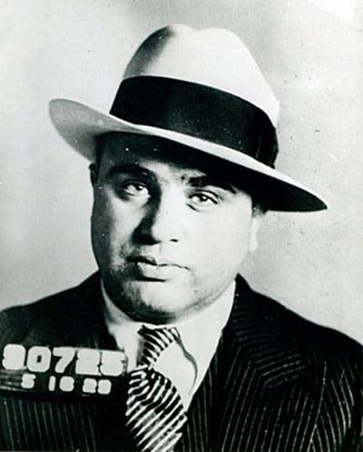 Al Capone arrest