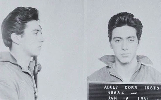 Famous mugshots: Al Pacino image