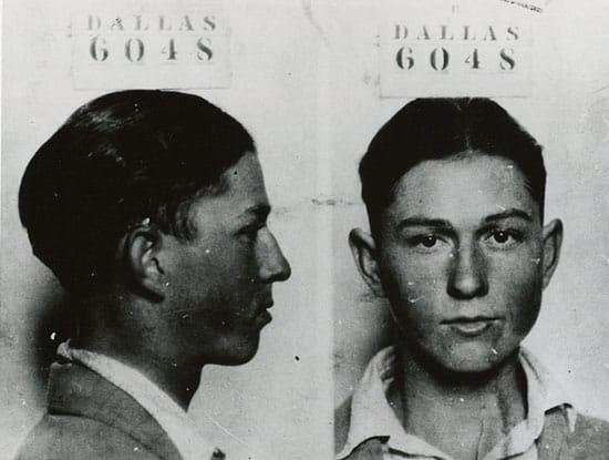 Clyde Barrow mugshot