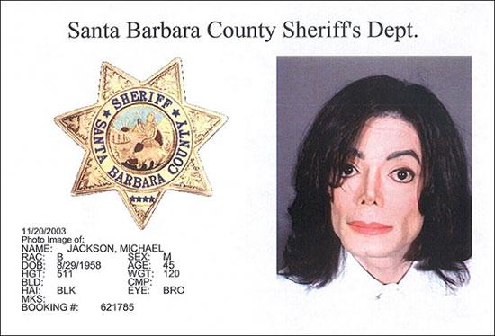 Michael Jackson arrest