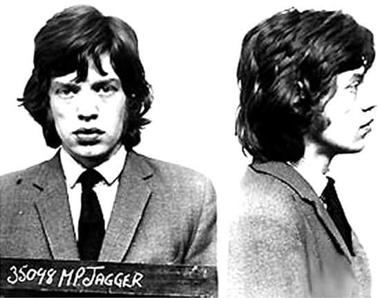 Mick Jagger arrested