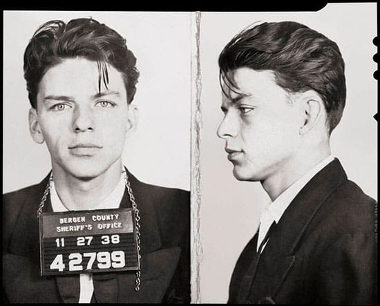 Sinatra mugshot
