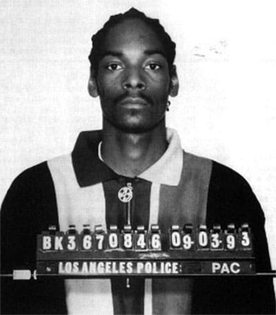 Snoop Dogg mugshot