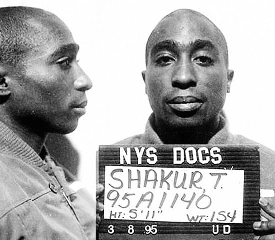 Famous mugshots: Tupac Shakur image