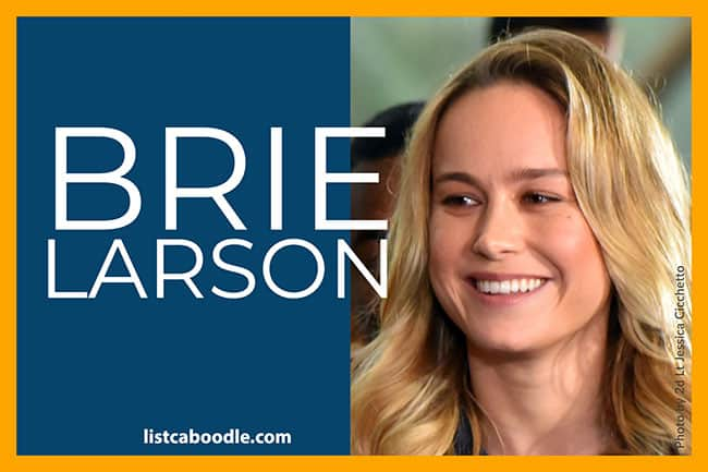 All about Brie Larson image