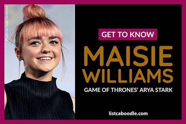 Maisie Williams image