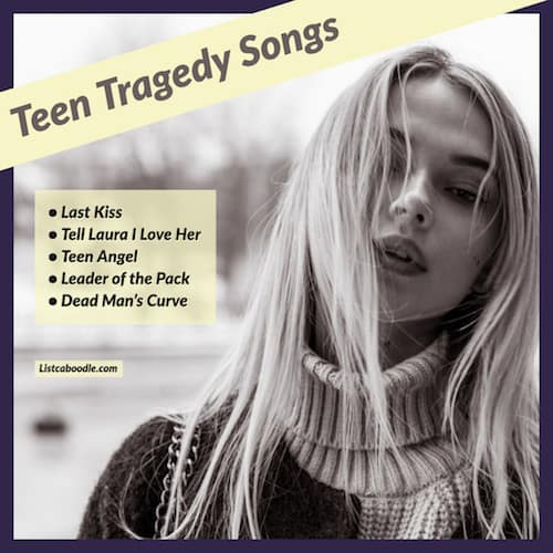 Songs about death image