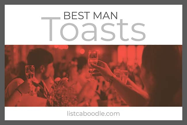 Best Man Toasts visual