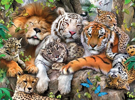 Big cats best jigsaw puzzles image