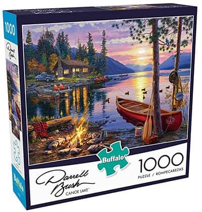 Canoe Lake best jigsaw puzzles image