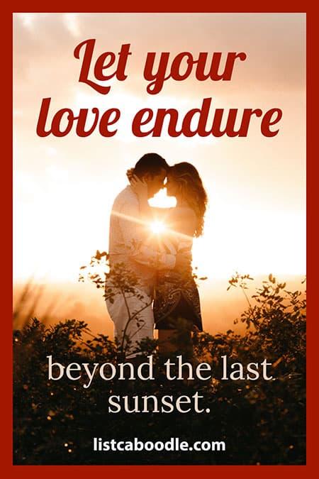 Love endure bridesmaid toast image