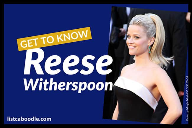 Reese Witherspoon quotes and FAQs image