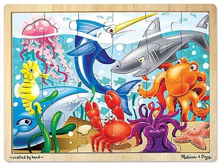 Sea animals nest jigsaw puzzles image