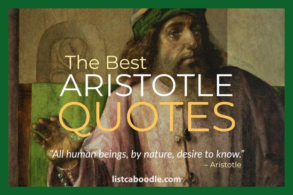 Best Aristotle Quotes image