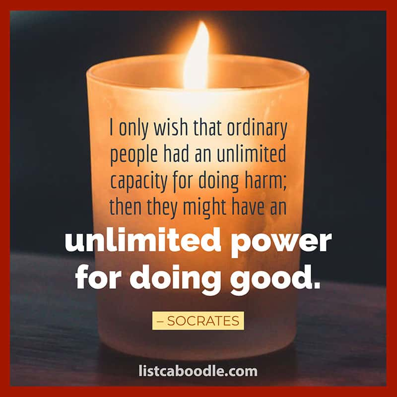 Doing good quote image