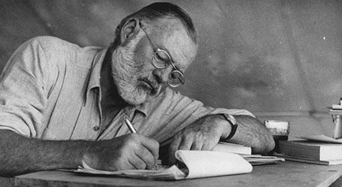 Ernest Hemingway image