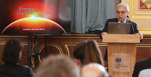 Dr. Fatih Birol image