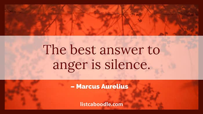 Anger saying image