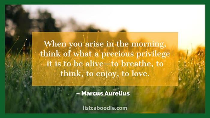Morning saying photo