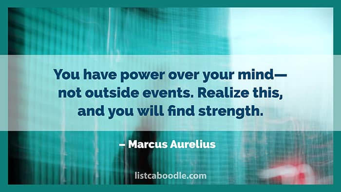 Mindful quote image