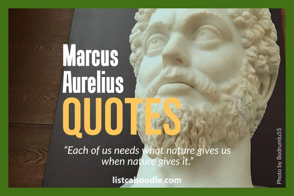 Marcus Aurelius quotes image