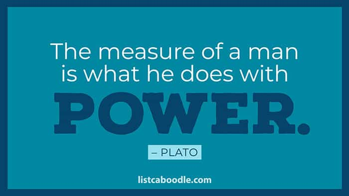 Measure of a man quote image