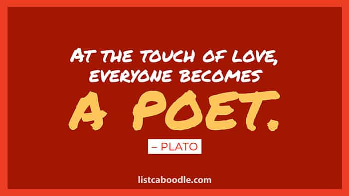 Plato poet quote image
