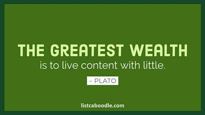 Plato wealth quote image