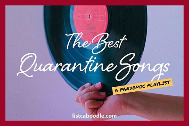 Quarantine songs image