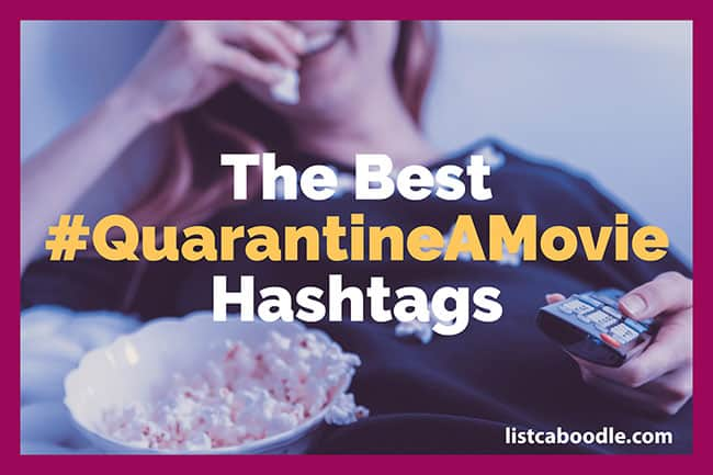 #QuarantineAMovie image