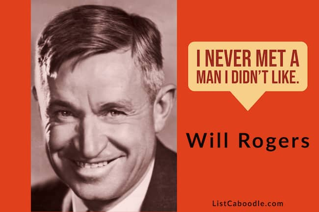 Will Rodgers Quotes and Sayings image