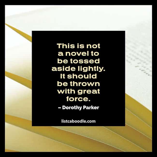 Novel quote