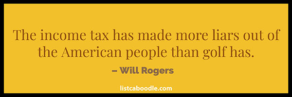 Income tax quote image
