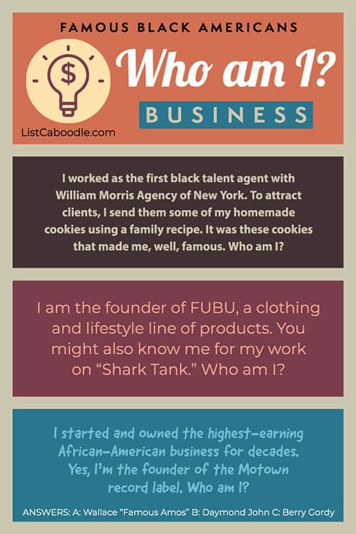 Black History Facts Quiz - Business leaders image
