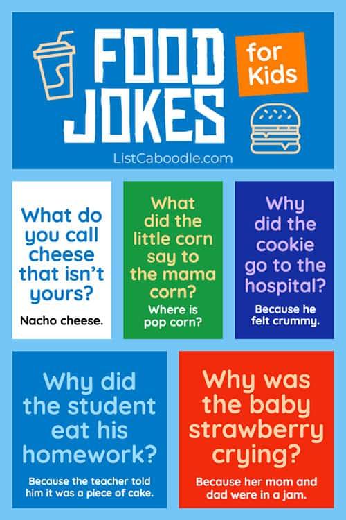 Funny food jokes image