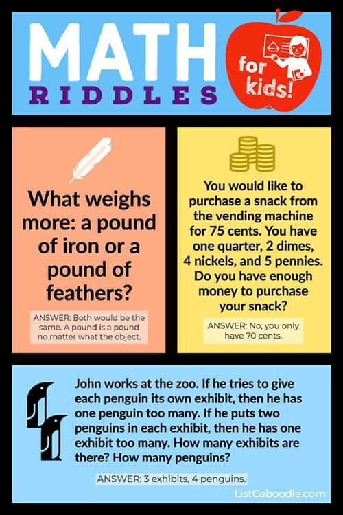 Fun Math Riddles