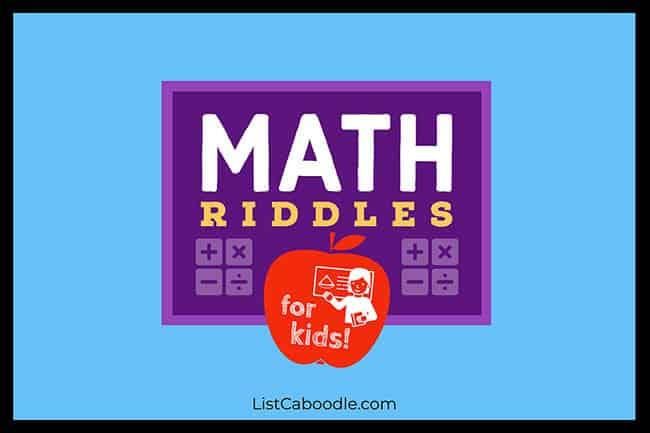 Good Math Riddles
