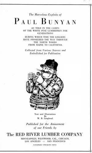 Laughead booklet.