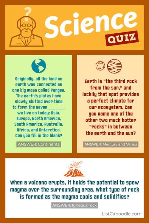 Science Riddles for Kids