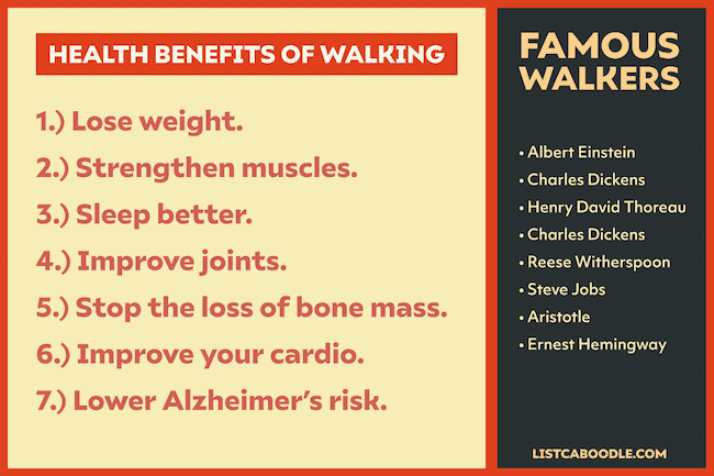 Health benefits of walking - 13 ways to limit screen time