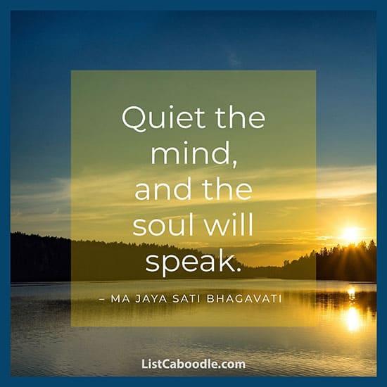 Ma Jaya Sati Bhagavati saying