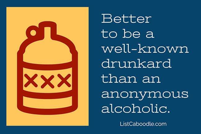 Drunkard toast image