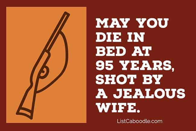 Jealous wife toast image