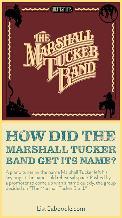 The Marshall Tucker Band Fun Facts and Trivia