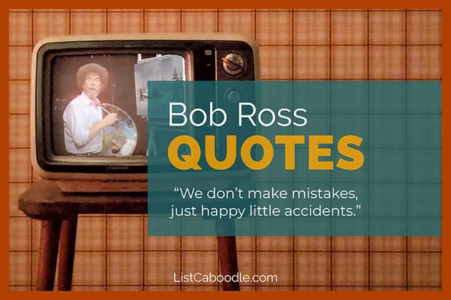 Bob Ross quotes image