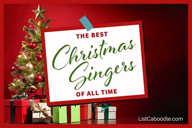 Best Christmas singers