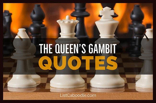 The Queen's Gambit quotes image