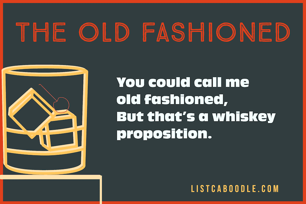 All About The Old Fashioned