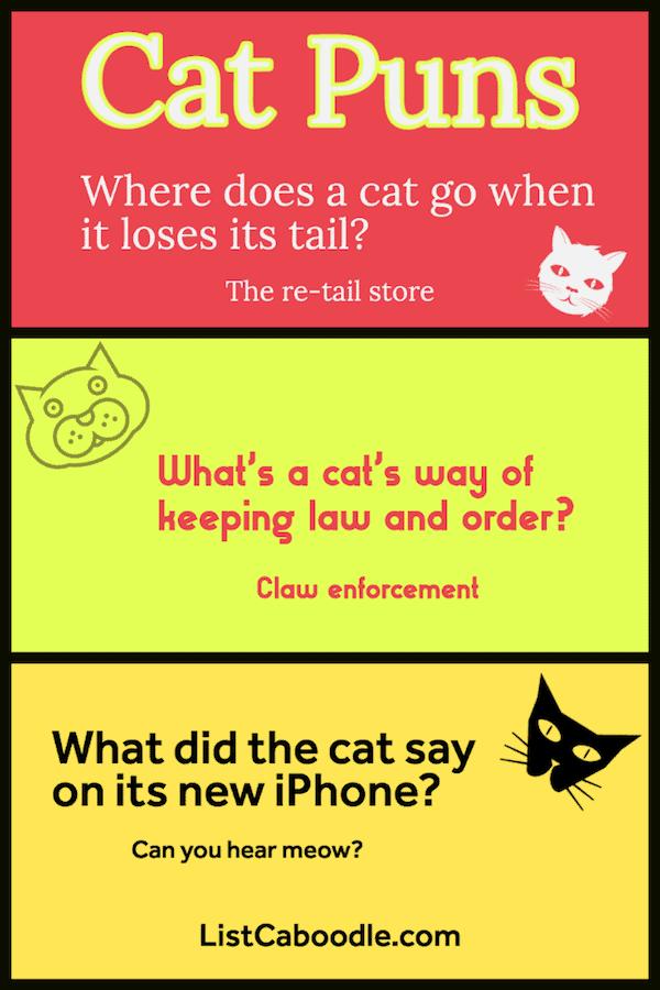 Funny Cat Puns