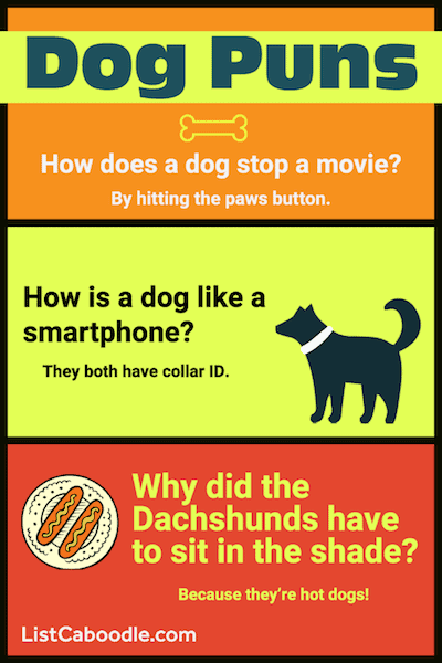 Good Dog Puns